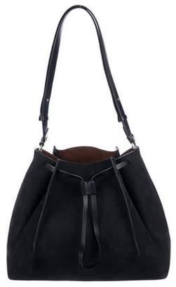 Maison Margiela Large Suede Bucket Bag