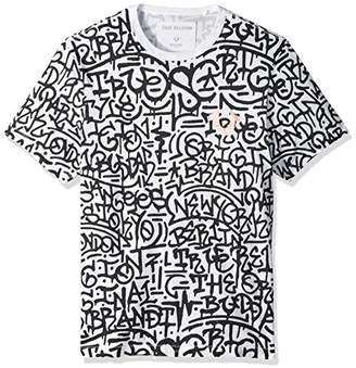 True Religion Men's Graffiti Graphic Tee