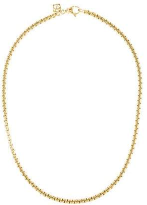 David Yurman 18K Box Chain Necklace