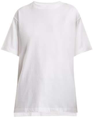 Hanes X Karla - The Original Cotton Jersey T Shirt - Womens - White