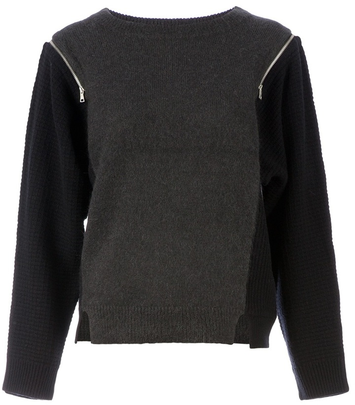 Edun colour block jumper