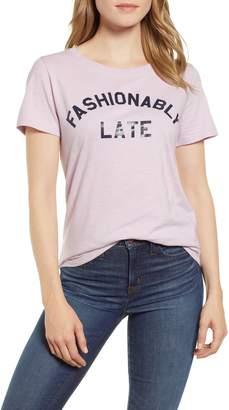 J.Crew Fashionably Late Tee
