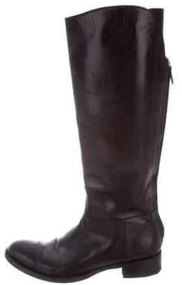 Loro Piana Knee-High Leather Boots