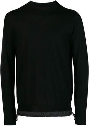 Sacai drawstring jumper