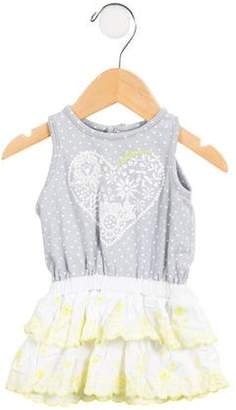 Catimini Girls' Embroidered Sleeveless Dress