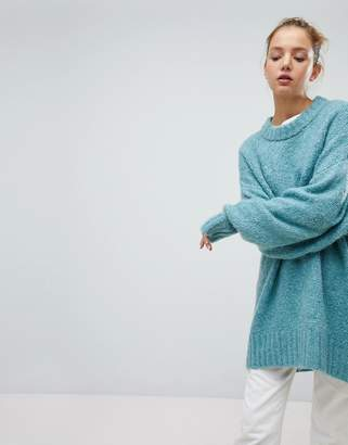 Weekday Oversized Boiled Wool Sweater