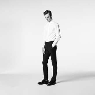 Sandro Tuxedo trousers in jacquard fabric