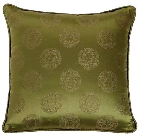 Medusa Royal Silk Accent Pillow