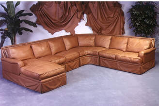 Omnia Leather Hacienda Leather Sectional with Chaise