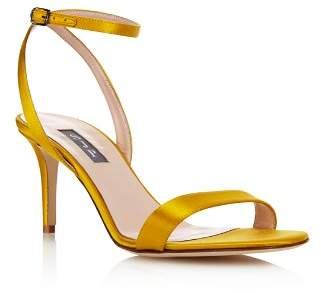 Sarah Jessica Parker Women's Gal Satin High-Heel Sandals