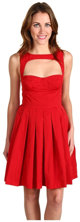 BB Dakota - Kassia Dress (Red) - Apparel