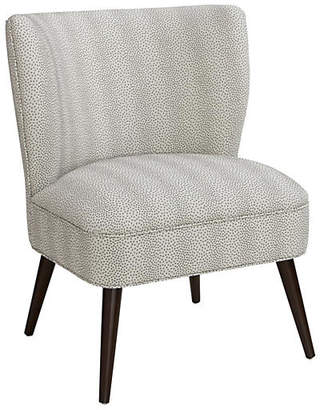 One Kings Lane Bailey Chair - Pewter Dots