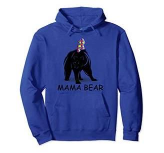 Autism Awareness Shirts - Mama Bear Pullover Hoodie Tee