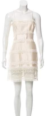 Valentino Sleeveless Embellished Dress