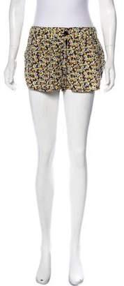 Elizabeth and James Silk Floral Shorts