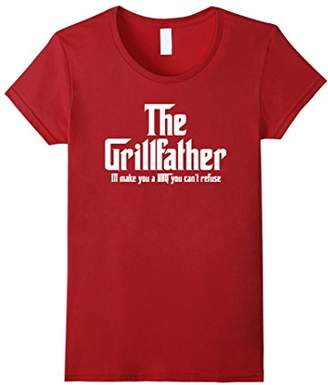 DAY Birger et Mikkelsen The Grillfather A BBQ You Can't Refuse T Shirt Father's