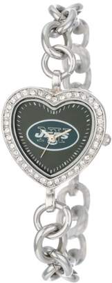Game Time NFL Women's FH-NYJ Heart Collection New York Jets Watch