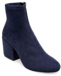 Design Lab Helen Microsuede Sock Booties