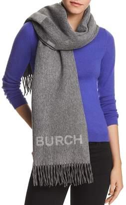 Tory Burch Wool Logo Scarf