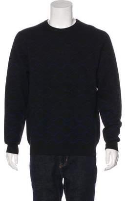Public School Patterned Wool Sweater
