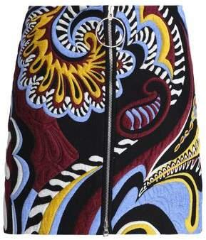 Emilio Pucci Jaquard Mini Skirt