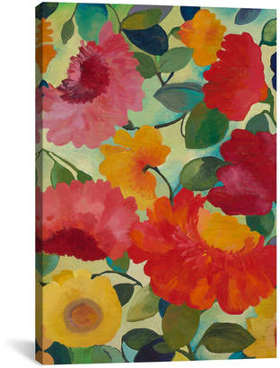"""iCanvas Love Flowers I"""" By Kim Parker Gallery-Wrapped Canvas Print - 60"""" x 40"""" x 1.5"""""""