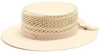 Maison Michel Kiki straw boater hat