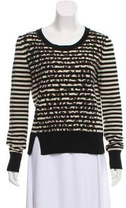 Thakoon Long Sleeve Knit Sweater