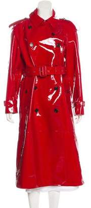 Burberry Patent Leather Trench Coat
