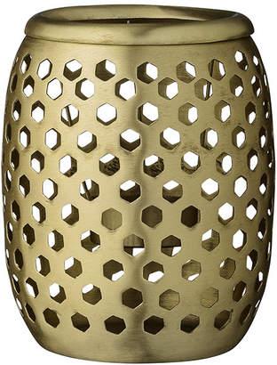 DAY Birger et Mikkelsen Brass Votive - Latticed with Holes - 10x12cm