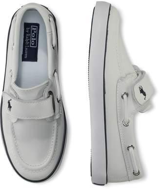 Ralph Lauren Sander Faux-Leather Boat Shoe