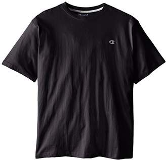 Champion Men's Big & Tall Crew-Neck Jersey T-Shirt
