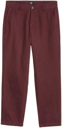 H&M Relaxed Chinos - Red
