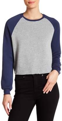 Project Social T Colorblock Baseball Sweater