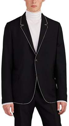 Valentino MEN'S WOOL-MOHAIR TWO-BUTTON SPORTCOAT
