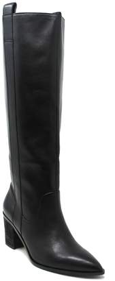 Charles by Charles David Charles David Western Leather Tall Boots - Exhibit