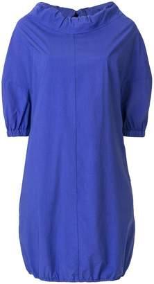 Hache short-sleeve shift dress
