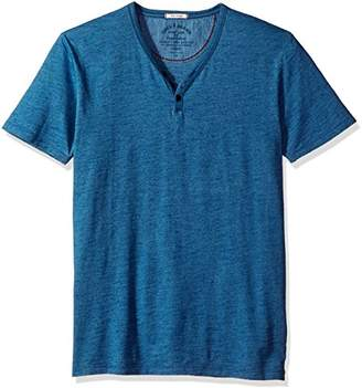 Lucky Brand Men's Y Neck Tee