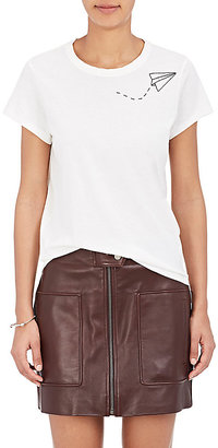 Rag & Bone Women's Kite-Embroidered Cotton T-Shirt $95 thestylecure.com