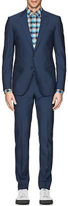 Lanvin Men's Attitude Mélange Wool Two-Button Suit