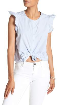 Parker Sleeveless Knotted Top