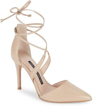 French Connection Women's Elise Strappy Point Toe Pumps