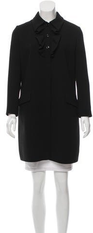 Miu Miu Miu Miu Wool Knee-Length Coat