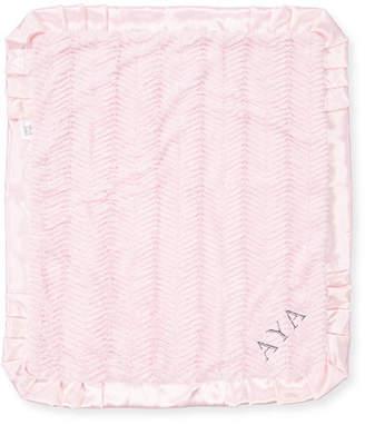 Swankie Blankie Ziggy Plush Receiving Blanket, Pink