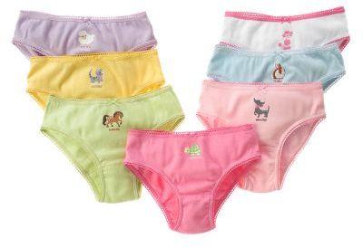 Animal Days of the Week Panty Set