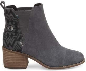 Forged Iron Grey Metallic Jacquard Women's Esme Boots