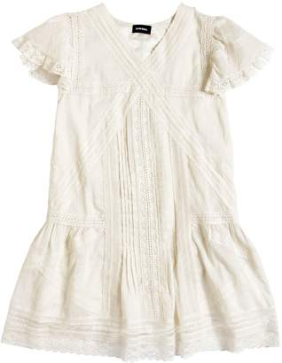 Diesel Cotton Muslin & Lace Dress
