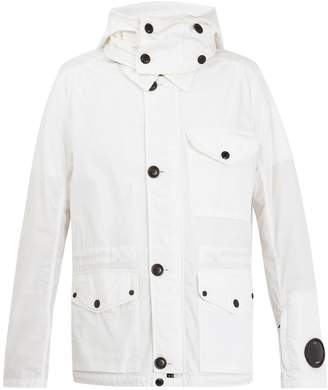 C.P. Company Goggle cotton-blend jacket