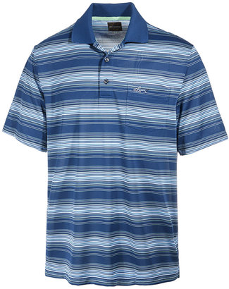 Greg Norman For Tasso Elba Men's Roadmap Performance End-on-End Stripe Polo, Only at Macy's $55 thestylecure.com