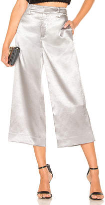 Vince Metallic Wide Crop Pant